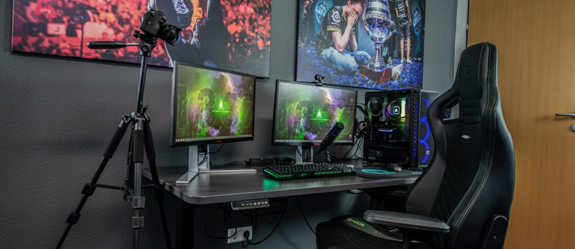 How to create the perfect gaming area with ambient lighting, Zazzy Home