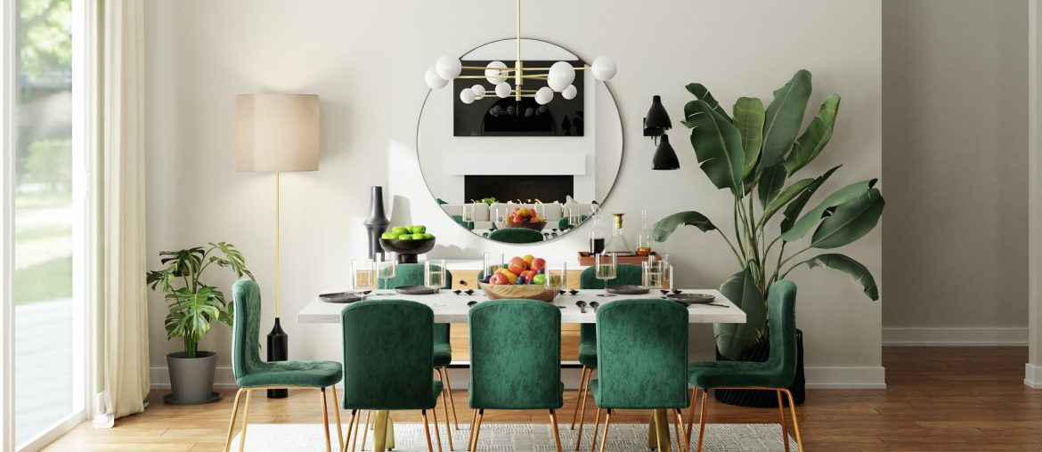 How to decorate a dining table, Zazzy Home